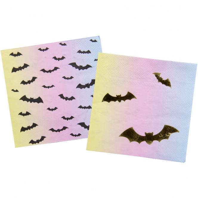 16 Napkins - Halloween Bats - Folat