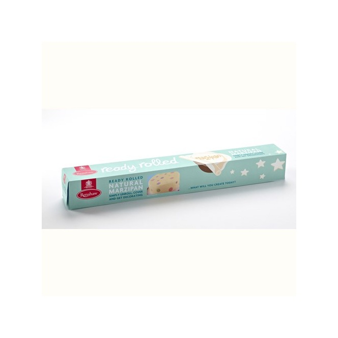 Ready Rolled Marzipan - White - 450g - Renshaw