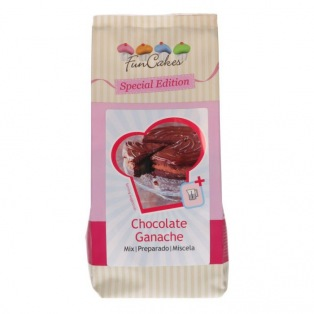Mix for Chocolate  Ganache 400g - Funcakes