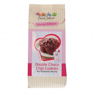 Mix for Double Choco Chip Cookies 400g - Funcakes