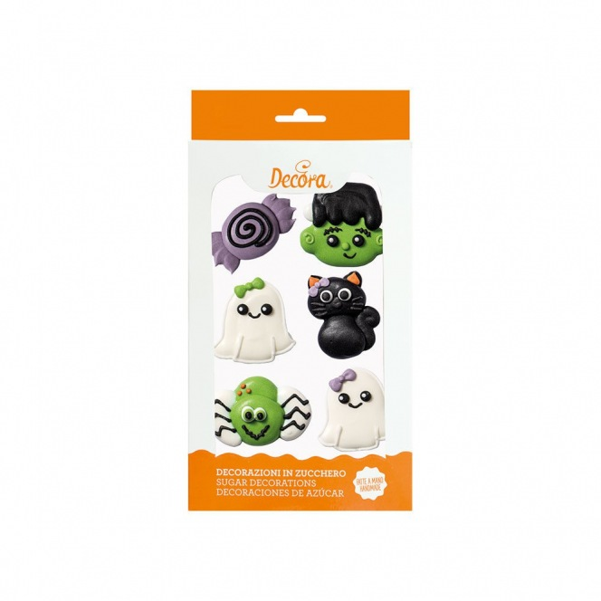 Sugar Decorations - Frankenstein - 6pcs - Decora