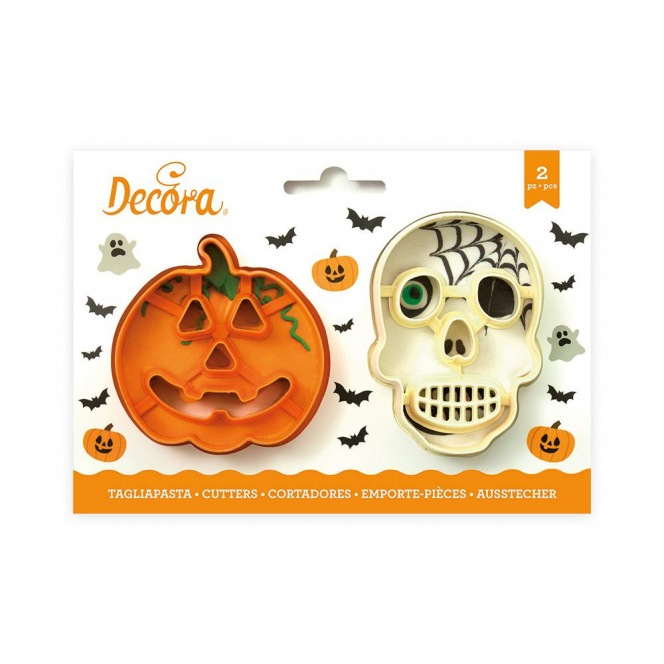 Halloween Cutters - 2 pcs - Decora