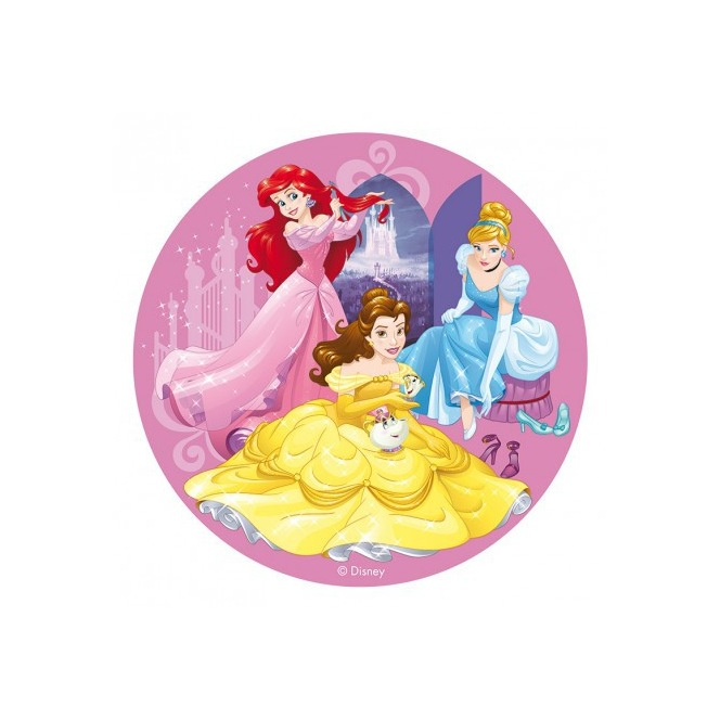 Wafer disk Disney princess  - 20cm