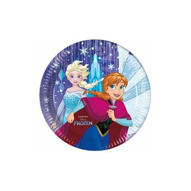 8 paper plates - Frozen