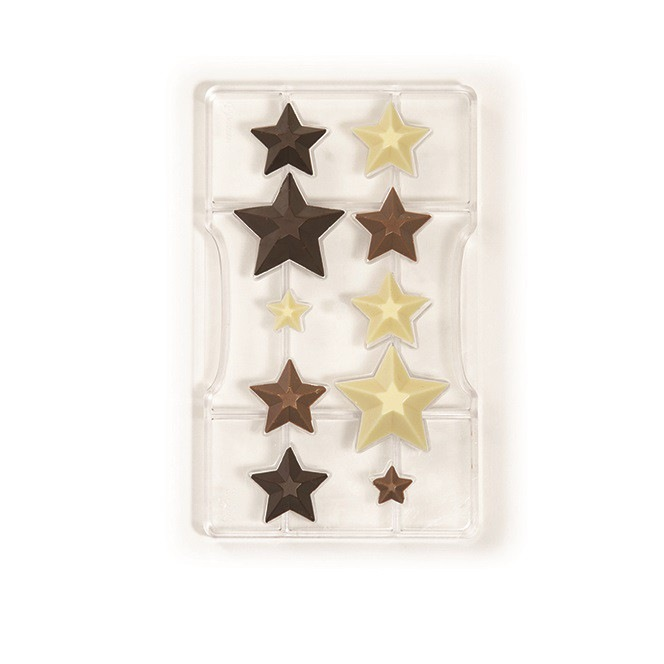 Chocolate Mold  Stars  - Decora