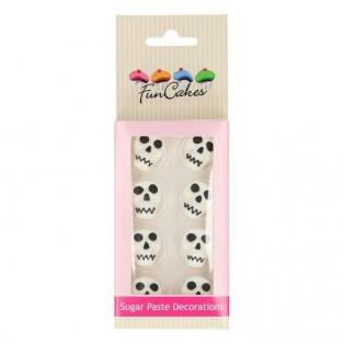 FunCakes Sugar Decorations Unicorn & Rainbow Set/8