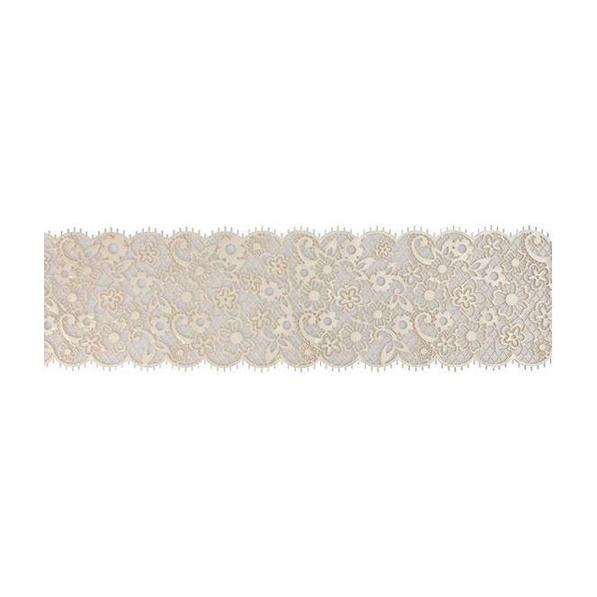 Edible Cake Lace Decoration - White Blossom - House of Cake