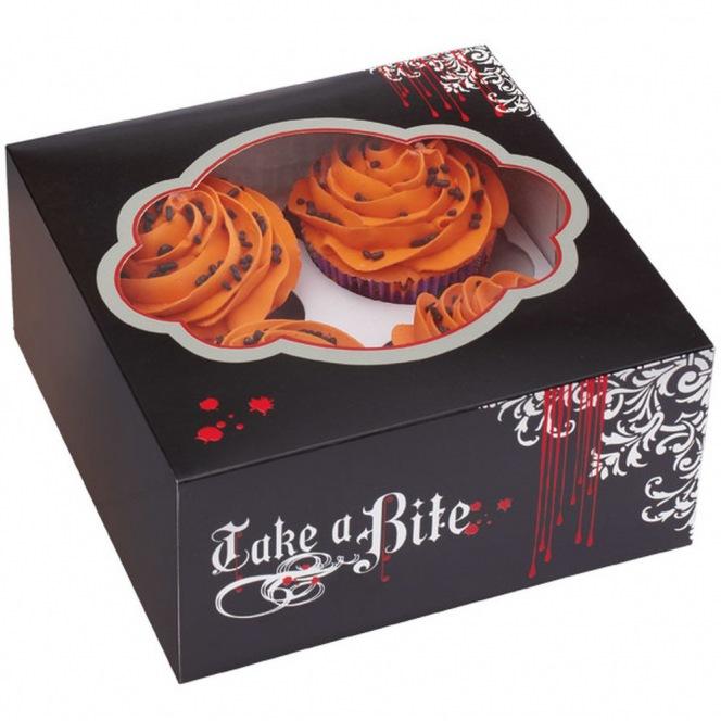 Cupcake Box - Halloween - Wilton