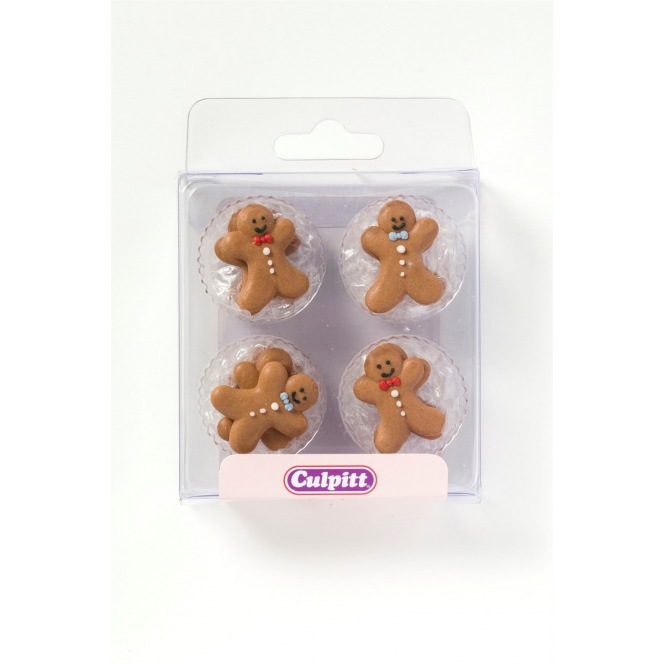 Gingerbread Man - 12pc - Culpitt