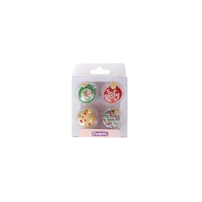Christmas Baubles- 12pc - Culpitt