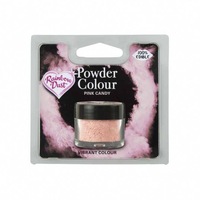 Dusting Powder Pink Candy Rainbow Dust 5g