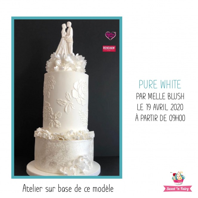 Pure White par Melle Blush