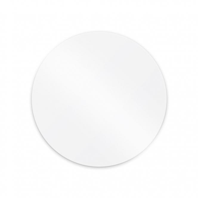 Set of 2 Round Acrylic Ganache Plates  Ø 21cm