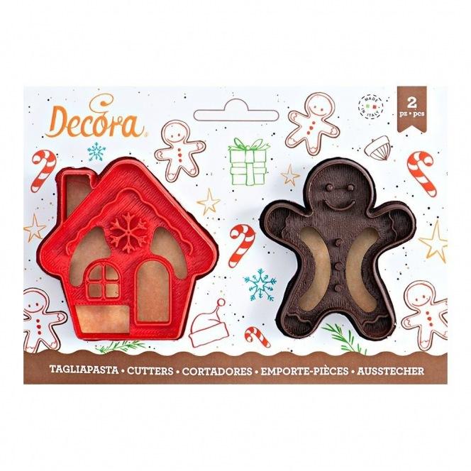 Gingerman Cutters - 2 pcs - Decora