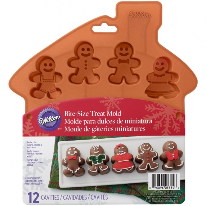 Treat Mold 12 cavities - Ginger Family - Wilton