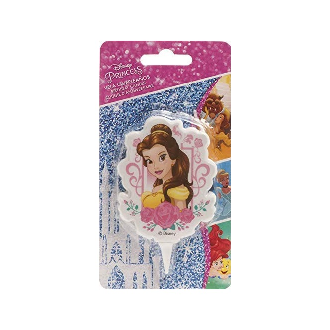Beauty and The Beast Candle - Belle - Dekora