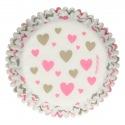 Baking Cups - Hearts - 48pcs - Funcakes