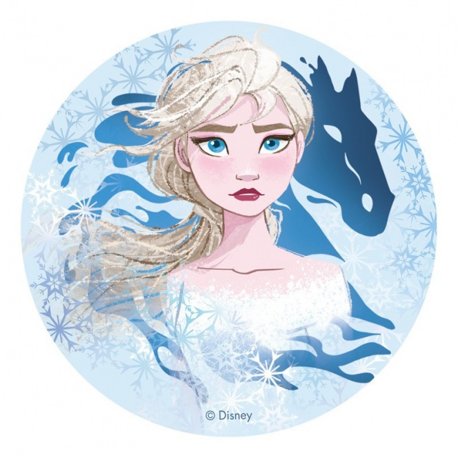 Edible Disc - Frozen II (theme 1) - Dekora