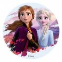 Edible Disc - Frozen II (theme 3) - Dekora