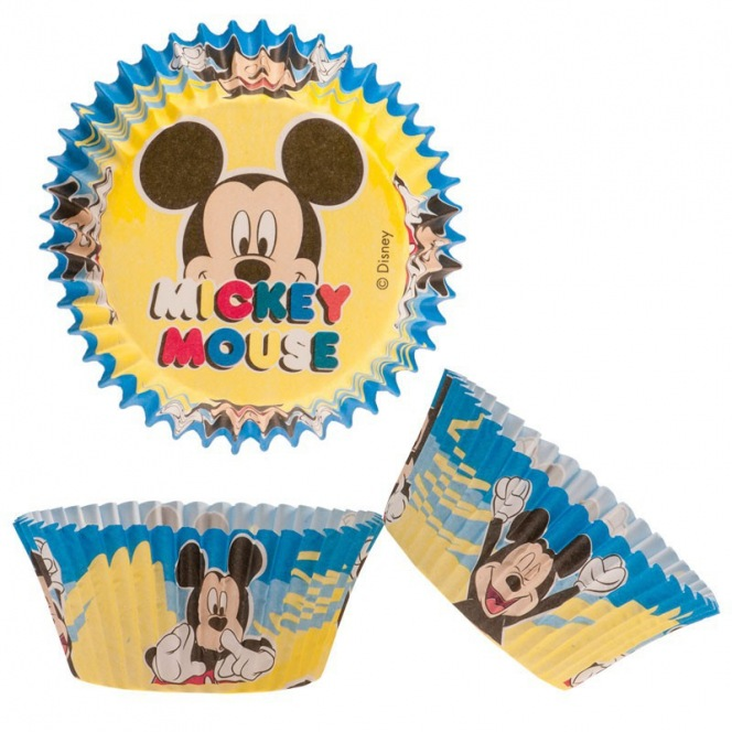 Mickey Baking Cups - 50pcs - Dekora