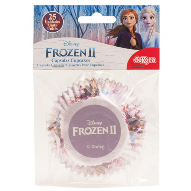 Frozen II Baking Cups - 25pcs - Dekora