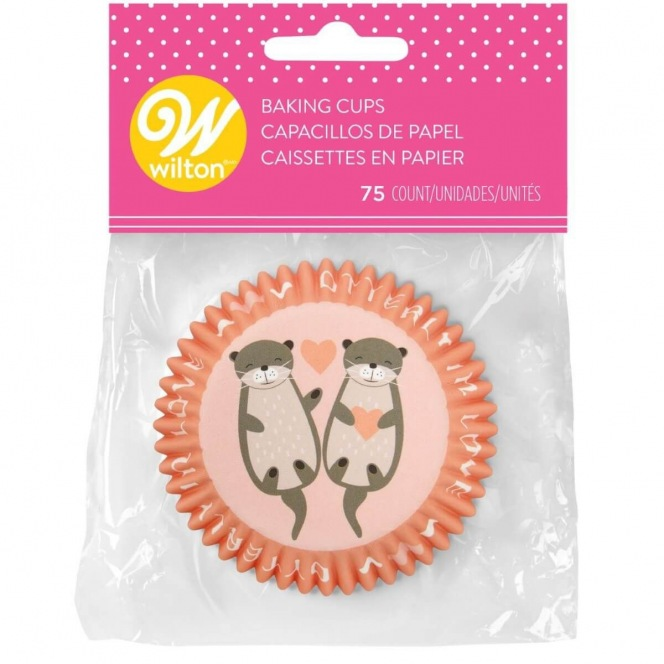 Baking Cups Utterly In Love - 75pcs - Wilton