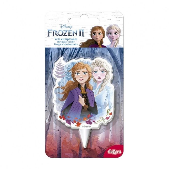 2D Candle Frozen - Dekora