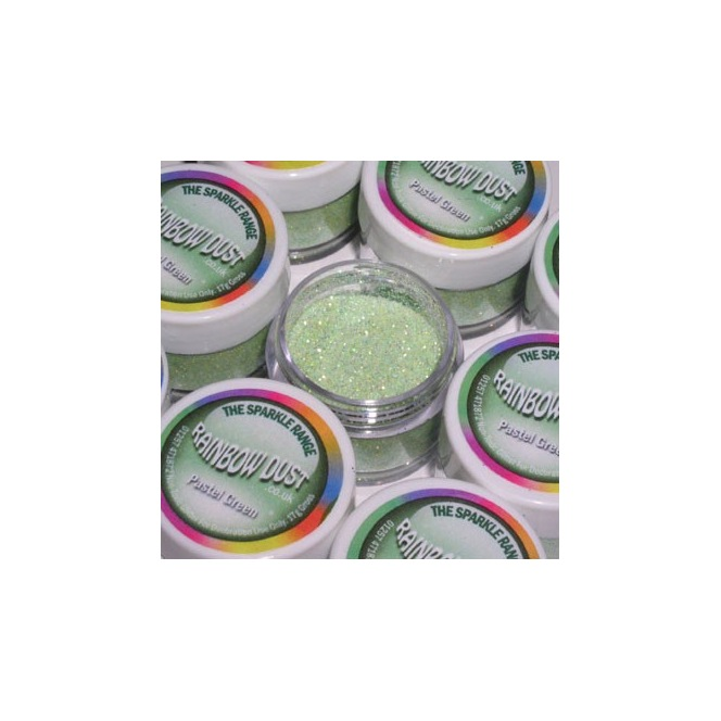 Decorative Glitter Pastel Green Rainbow Dust 5g