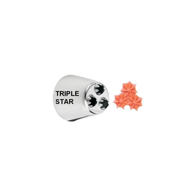 Decorating Tip 2010 Triple Star - Wilton
