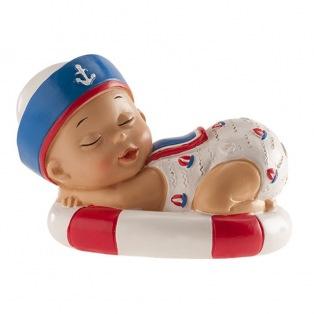 Baby Navy Boy - 10cm - Dekora