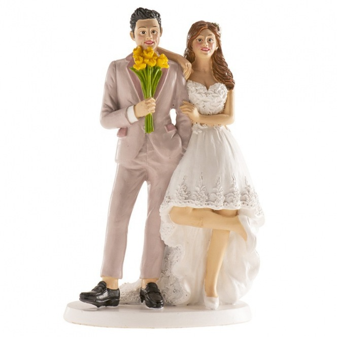 Wedding couple Brussels Figurine - 16cm - Dekora
