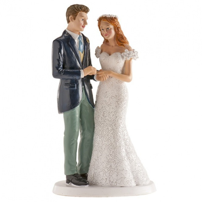 Wedding couple Oslo Figurine - 16cm - Dekora