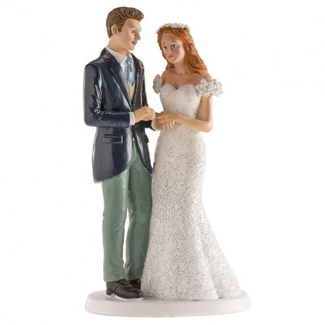 Wedding couple Oslo Figurine - 16cm - Dekora