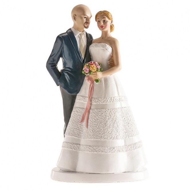 Wedding Couple Prague Figurine - 18cm - Dekora