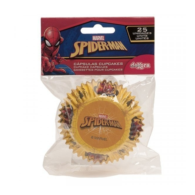 25 Baking Cups - Spiderman