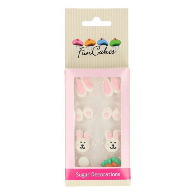 Sugar Decorations - Easter - 8pcs