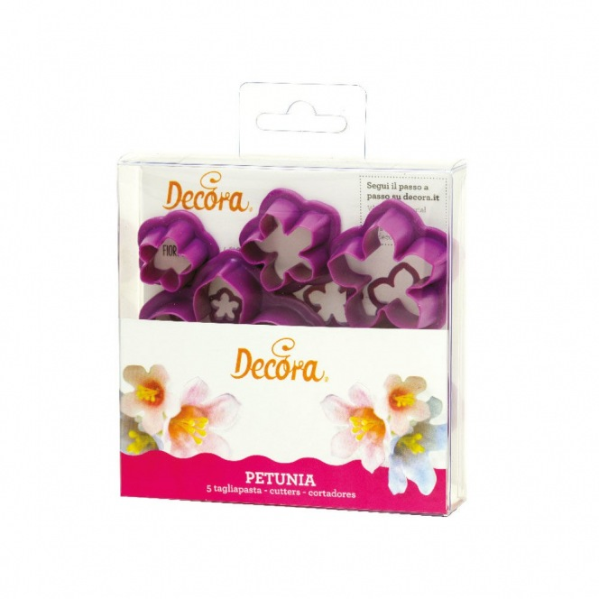Petunia Cutter Set - 5pcs - Decora