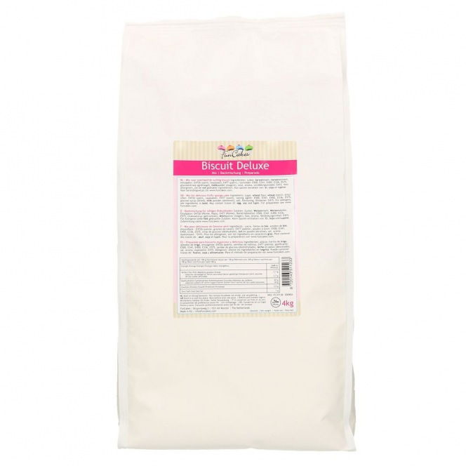 FunCakes Mix for Sponge Cake Deluxe 4 kg