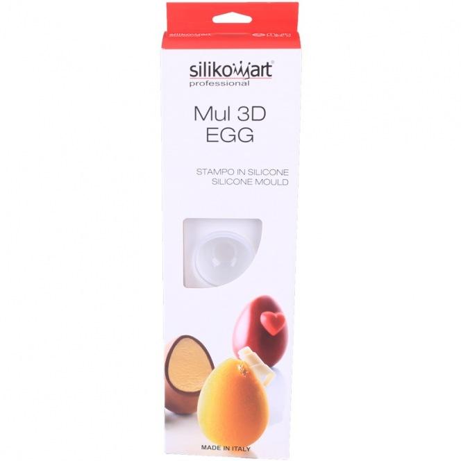 Mul 3D Egg  - Silikomart