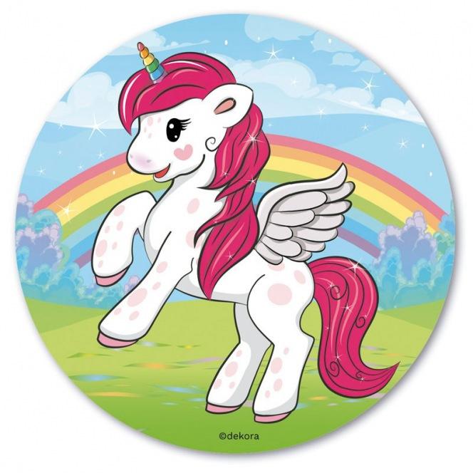 Sugar disc - Unicorn