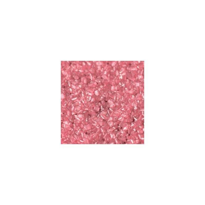 Sparkling Sugar Crystals - Pearlescent Pink 50gr