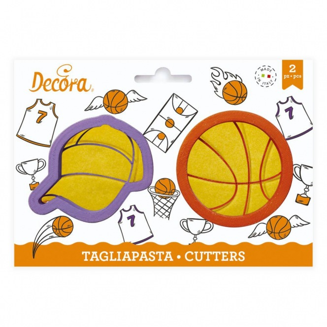 Basketball cutter - 2 pcs - Decora