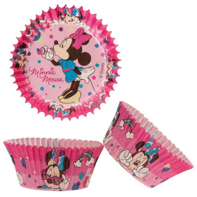 50 Baking Cups - Minnie