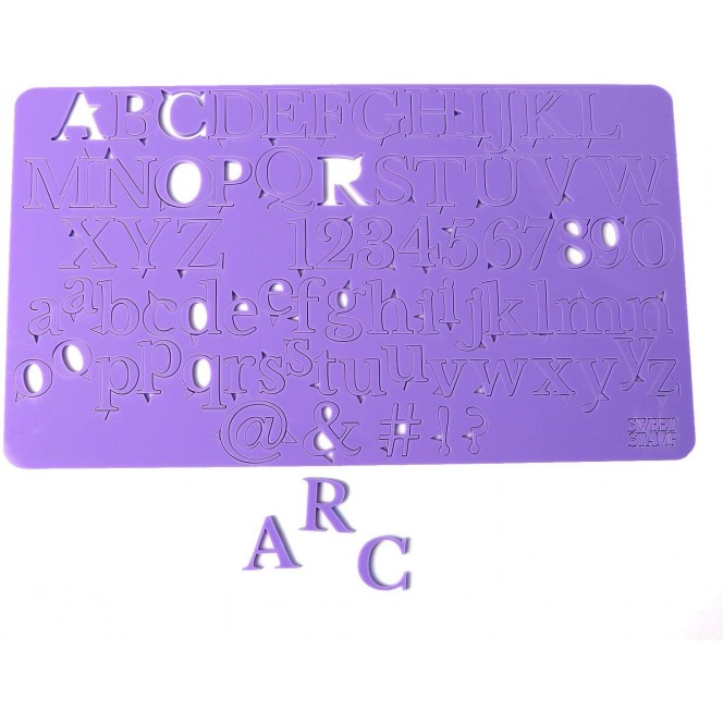 Sweet Stamp by Amy Cakes - Embossing Set - Letters & Numbers - Classic