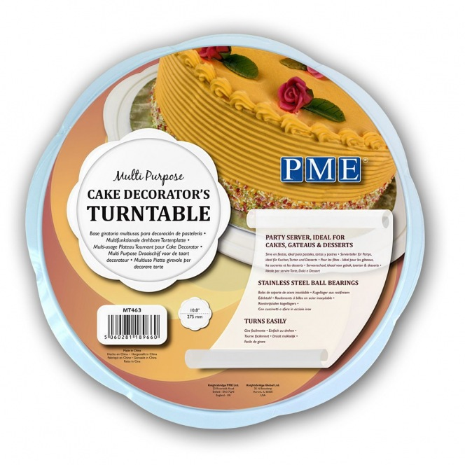 Multi Purpose Cake Decoarto's Turntable PME