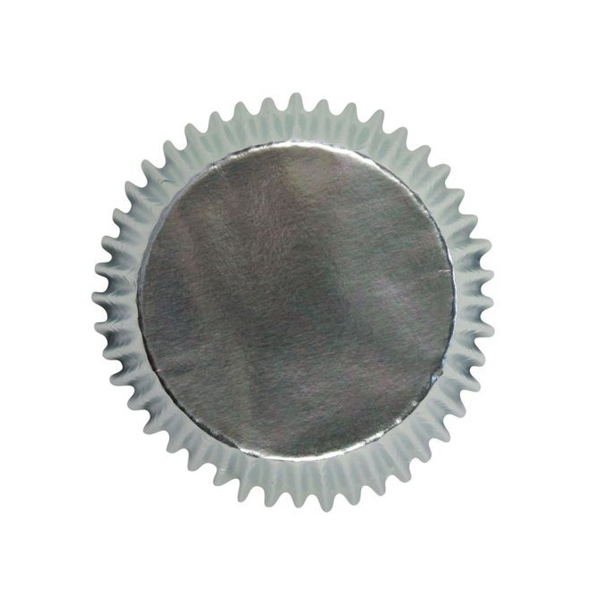PME - Mini Baking cups Silver pk/45
