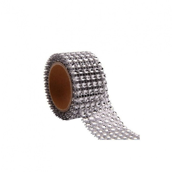 Diamante Ribbon - 3cm x 3m