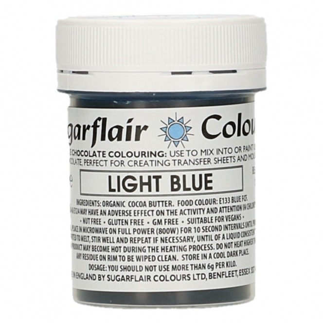 Sugarflair - Chocolate Colouring - Light Blue