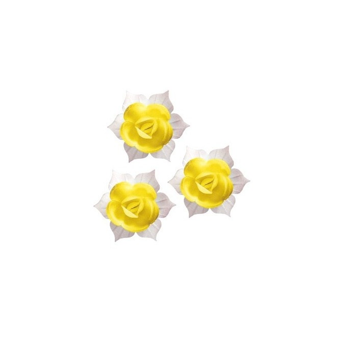 DBS - Yellow Daffodils 9pcs - 45mm