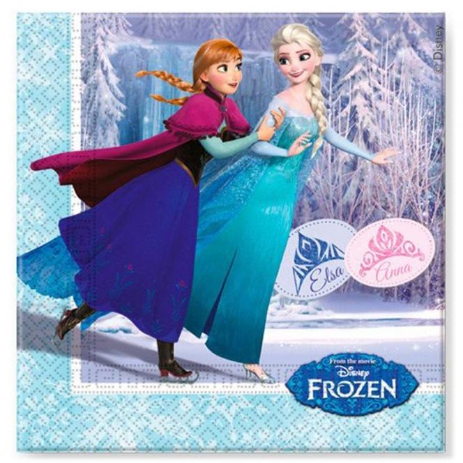 20 Napkins - Frozen